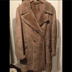 Champs Élysées Fashions Inc. Suede Winter Coat